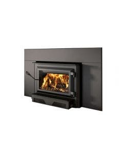 Ventis Wood Burning Fireplace Insert With Blower And Faceplate - HEI240