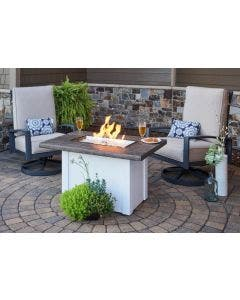 The Outdoor GreatRoom Company Havenwood Gas Fire Table - HVxx-1224-K