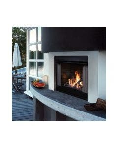 Kingsman Black Outdoor Gas Fireplace- OFP42N