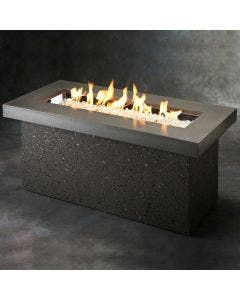 The Outdoor Greatroom Key Largo Gray Gas Fire Pit Table - KL-1242-MM