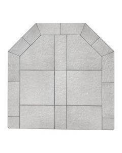Diamond Hearths Standard Or Corner Hearth Pad - Kassle Rock