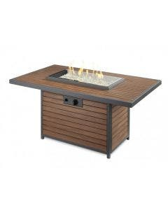 The Outdoor GreatRoom Company Kenwood Gas Fire Pit Table - KW-1224-19-K