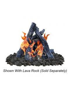 Firegear Fire Pit Gas Log Set - Sedona