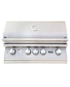 Lion L75000 32-Inch Built-In Gas Grill With Rear Infrared Burner