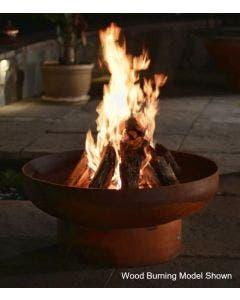 Fire Pit Art Wood Fire Pit- Low Boy 36 Inch