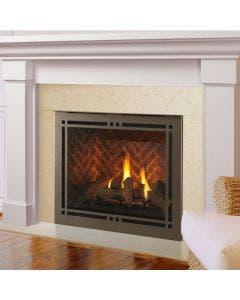 Majestic Meridian Platinum 36-Inch Gas Direct Vent Fireplace- MERIDPLA36