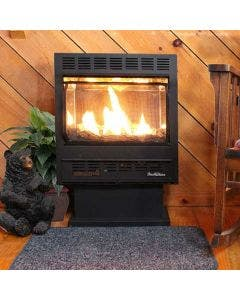 Buck Stove 1127 Vent Free Gas Stove Or Fireplace with Pedestal