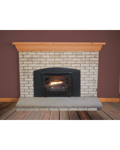 Buck Stove Model Premier T-33 Gas Fireplace