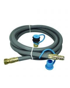 Broilmaster 12 Foot Natural Gas Quick Disconnect Hose - NG12