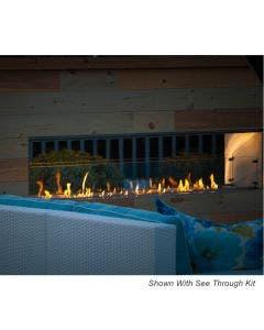 "Firegear Outdoor 72"" Kalea Bay Outdoor Gas Fireplace- OFP-72LECO-N"