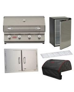 Bull Outlaw 5-Piece 30-Inch Grill Kitchen Package