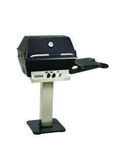 Broilmaster P3SX Gas Grill On Stainless Steel Deck Mount Base - P3SX Super Premium