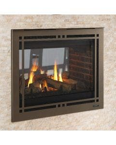 Majestic 36 Inch See Through Gas Direct Vent Fireplace- PEARL36STIN