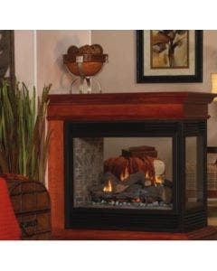 """Empire 36"""" Tahoe See-Through/Peninsula Direct Vent Gas Fireplace - DVP36"""