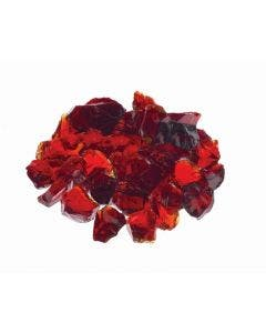 """Prism Hardscapes Fire Glass 1/4"""" Metallic - 5-lbs - Red - PH-420-10"""
