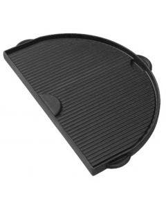 Primo Cast Iron Griddle for Oval LG - PRM365 - Top