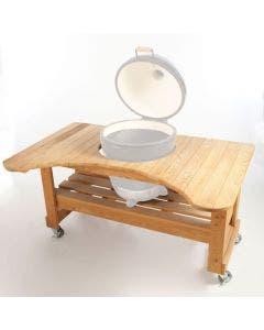 Primo Cypress Table for Kamado - PRM601