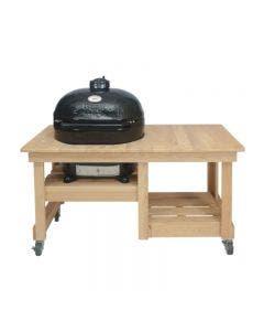 Primo Oval XL 400 Kamado with Cypress Table Options - PRM778 / PRM612 / PRM600 / PRM602