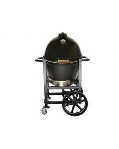 Goldens' Cast Iron 20.5-Inch Cooker Handle Cart - 13546