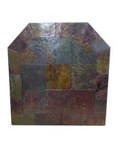 Diamond Hearths Standard Or Corner Hearth Pad - Peacock Slate