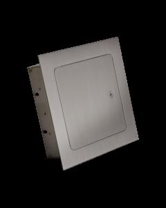 RCS  8-Inch Stainless Steel Recessed Single Access Door - RAD88
