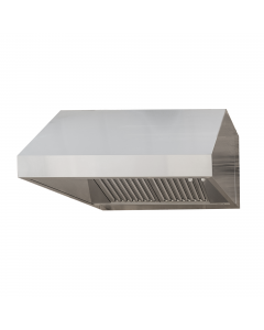 """RCS 48"""" 304 Stainless Steel Vent Hood"""