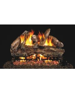 Peterson Real Fyre Vented Gas Log Set - Red Oak