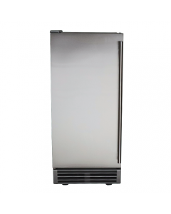 RCS 44 Lb. 15-Inch Outdoor Rated Ice Maker WIth Gravity Drain - REFR3-Front View