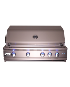 RCS Cutlass Pro 38-Inch Built-In Gas Grill With Rear Infrared Burner & Blue LED Lights - RON38A/RON38ALP