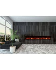 Modern Flames Landscape Fullview 120 Inch Electric Fireplace - LFV2-120/15-SH