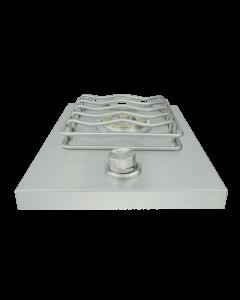 RCS Cutlass Drop-in Stainless Steel Single Side Burner - RSB1/RSB1LP - Top View