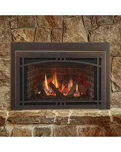 Majestic Ruby 30-Inch Gas Direct Vent Fireplace Insert - RUBY30