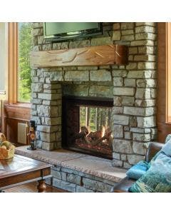 """Empire 40"""" Rushmore See-Through Direct Vent Gas Fireplace - DVCT40CSP95"""