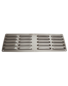 """RCS 5"""" X 14"""" Stainless Steel Island Vent Panel - RVNT1 - Front View"""