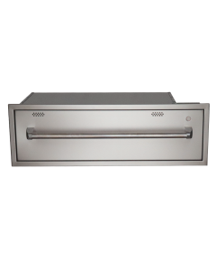 RCS R-Series 36-Inch Built-In 120V Electric Outdoor Warming Drawer - RWD1 - Front View