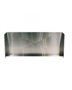 RCS 36-Inch Stainless Steel Wind Guard For Premier & Cutlass Series Gas Grills - RWGM -Front View