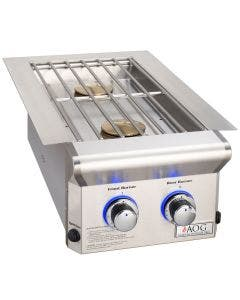 American Outdoor Grill L-Series Drop-In Natural Gas Double Side Burner - 3282L