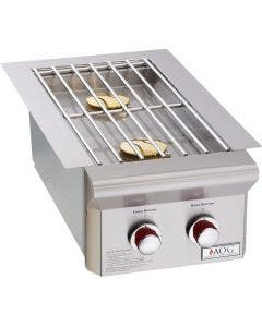 American Outdoor Grill T-Series Drop-In Gas Double Side Burner - 3282T