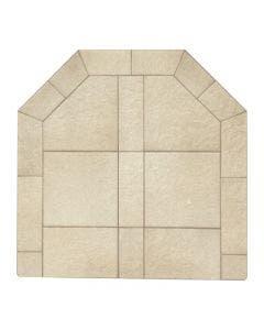 Diamond Hearths Standard Or Corner Hearth Pad - Sand Stone