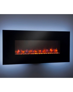 Greatco 58-Inch Wall Mount Electric Fireplace - GE-58