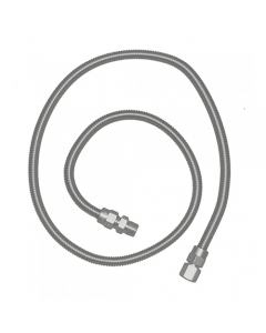 RCS 48-Inch Stainless Steel Flex Hose - SSFLEX6436