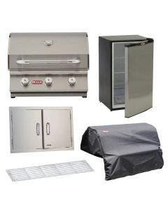 Bull 5-Piece Steer 24-Inch Grill Kitchen Package