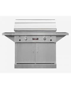 TEC Grills 44-Inch Sterling Patio FR Grill With Cabinet - STPFR2LPCAB/STPFR2NTCAB