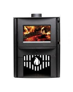 Breckwell SW2.0 Wood Burning Stove With Black Finish - Up To 2000 Square Feet