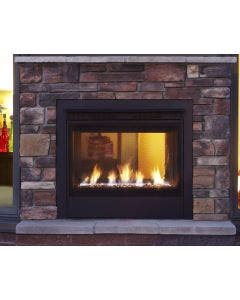 Majestic Modern Indoor/Outdoor See Through Gas Fireplace- TWILIGHT-II-MDC