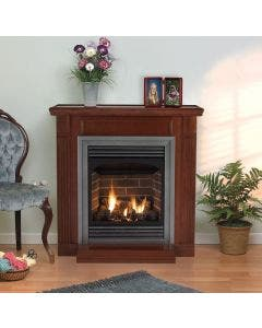 Empire Vail Vent-Free Fireplace - 24-inch