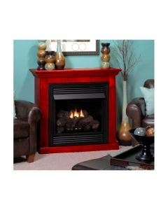 Empire Vail Vent-Free Fireplace - 26-inch Special Edition With Mantel Cabinet