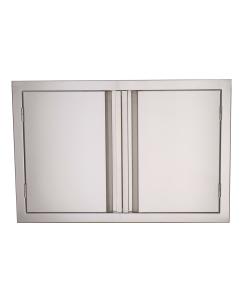 RCS Valiant Series 33-Inch Stainless Steel Double Access Door - VDD1-Front View