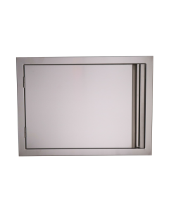 RCS Valiant Series 27-Inch Stainless Steel Horizontal Single Access Door - VDH1 - Front View