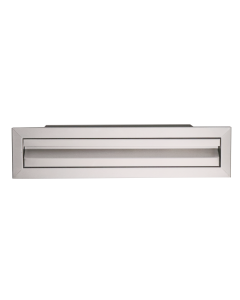 """RCS Valiant Series 25"""" X 6"""" Stainless Steel Single Access Drawer - VDU1 - Front View"""